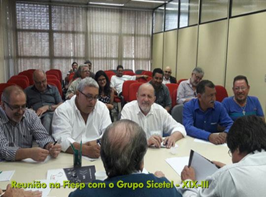 001 02 Nova rodada de Negociação com o SICETEL e Grupo XIX III chega a impasse