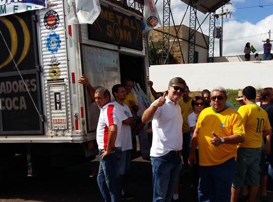 """1302 Metalúrgicos de Mococa presentes na manifestação pró  Impeachment – """"Vem Pra Rua Mococa"""""""