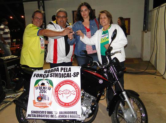 1maio01 01 Sindicato entrega prêmio em homenagem ao Dia do Trabalhador