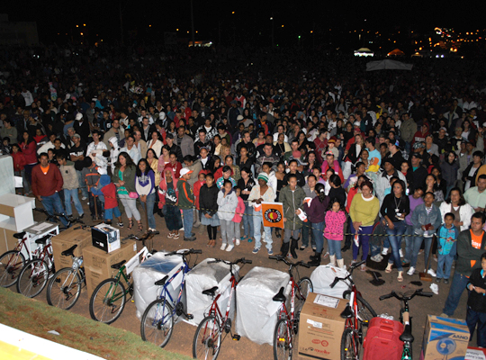 1maio201202 1º de Maio: parceria entre Prefeitura Municipal, Sindicato e Força Sindical premia trabalhadores de Mococa