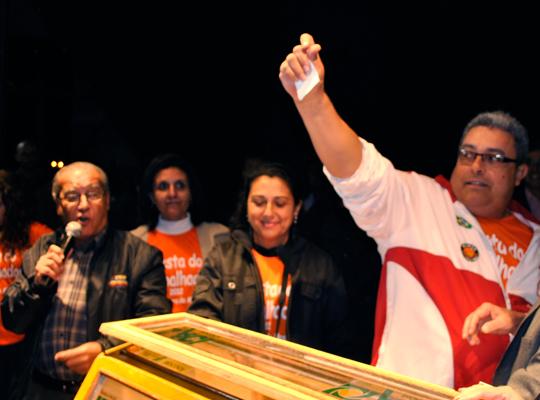 1maio201203 1º de Maio: parceria entre Prefeitura Municipal, Sindicato e Força Sindical premia trabalhadores de Mococa