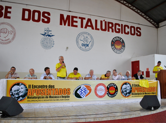2encontro02 Sindicato realizou o II Encontro dos Aposentados Metalúrgicos