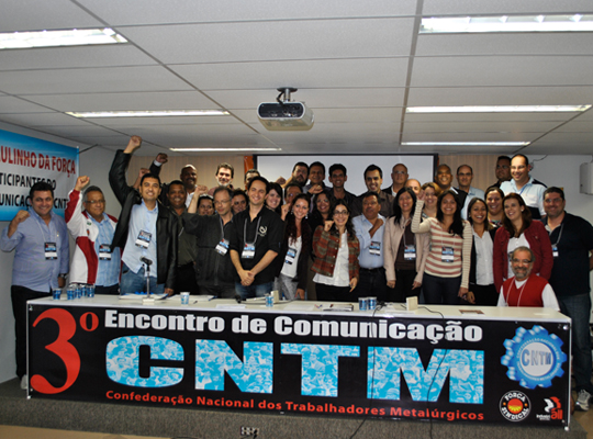 3encontrocomunica00 Assessores de Imprensa e dirigentes debatem práticas e materiais de comunicação sindical