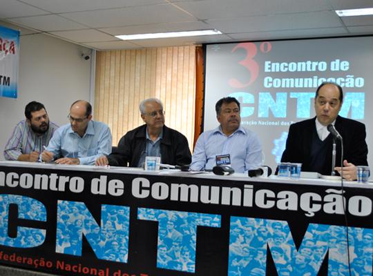 3encontrocomunica02 Assessores de Imprensa e dirigentes debatem práticas e materiais de comunicação sindical