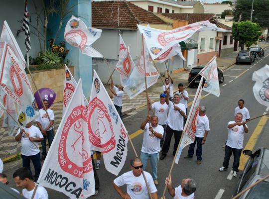 INSS02 Manifestação em frente o INSS em São João da Boa Vista