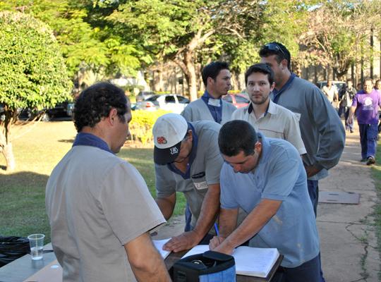 ass01 Sindicato realiza assembleia de renovação de Acordo de Horário na Caldeiraria