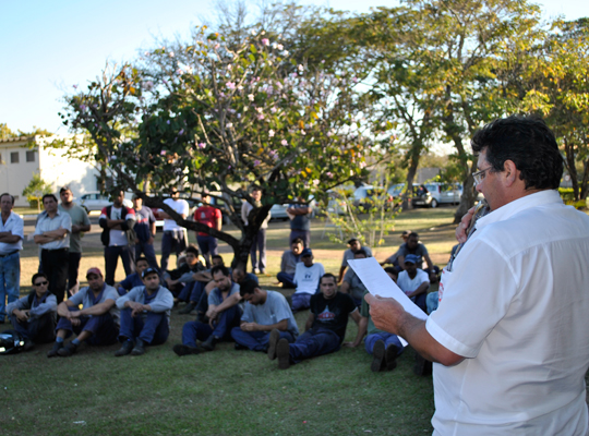 ass02 Sindicato realiza assembleia de renovação de Acordo de Horário na Caldeiraria