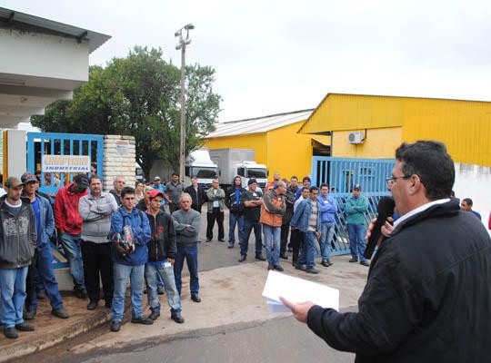 asschiap01 Empregados da Chiaperini  aprovam proposta de PLR