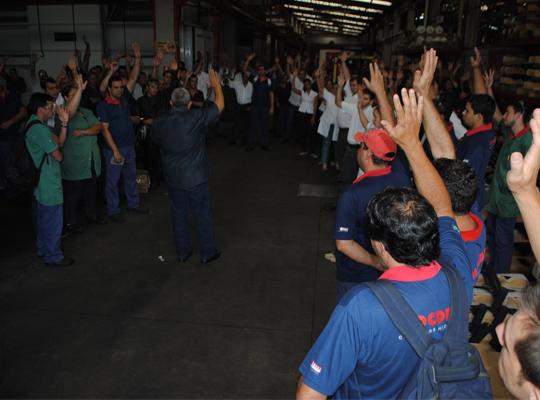 assmoc1502 Empregados da Mocdrol aprovam proposta de PLR