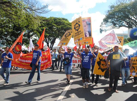 bra005 Metalúrgicos de Mococa presentes na Marcha de Brasília Contra as Reformas Trabalhista e Previdenciária e por Eleições Diretas Já! Fora Temer!!!