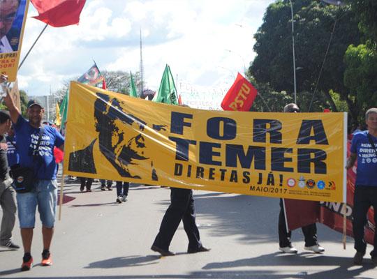 bra007 Metalúrgicos de Mococa presentes na Marcha de Brasília Contra as Reformas Trabalhista e Previdenciária e por Eleições Diretas Já! Fora Temer!!!