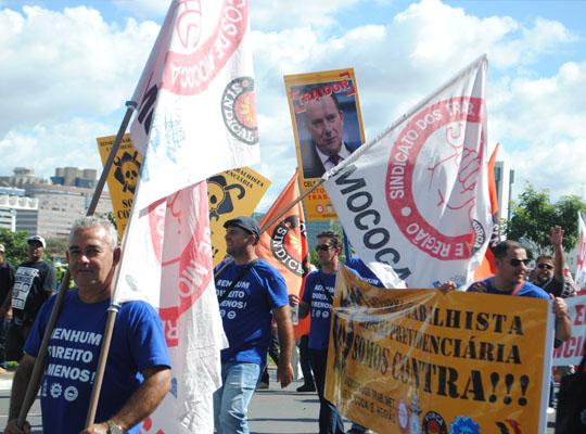 bra008 Metalúrgicos de Mococa presentes na Marcha de Brasília Contra as Reformas Trabalhista e Previdenciária e por Eleições Diretas Já! Fora Temer!!!