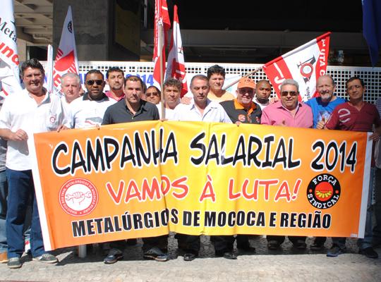camp201400 Metalúrgicos de Mococa e Região, juntos com Federação e Força, entregam pauta à Fiesp