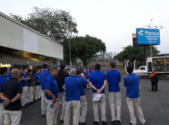 camp2017001 Assembleias Itinerantes da Campanha Salarial / 2017