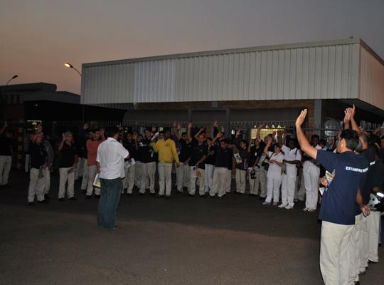 campsal201202 Sindicato inicia Campanha Salarial nas empresas
