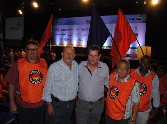 coalizao02 Metalúrgicos de Mococa participam de movimento em São Paulo pela recuperação da indústria nacional