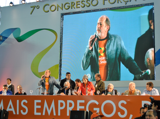 congresso02 Diretorias do Sindicato participam do 7º Congresso Nacional da Força Sindical