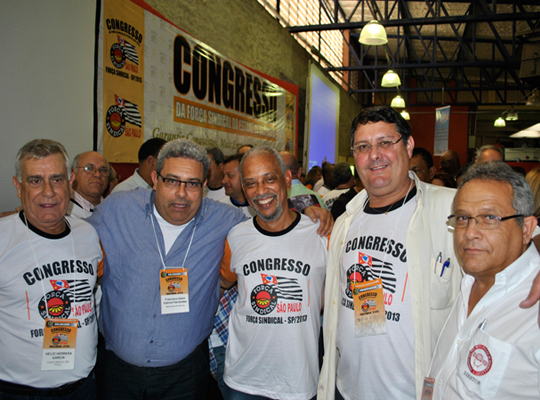 congressoamericana00 Sindicato participa de Congresso Estadual da Força Sindical em Americana