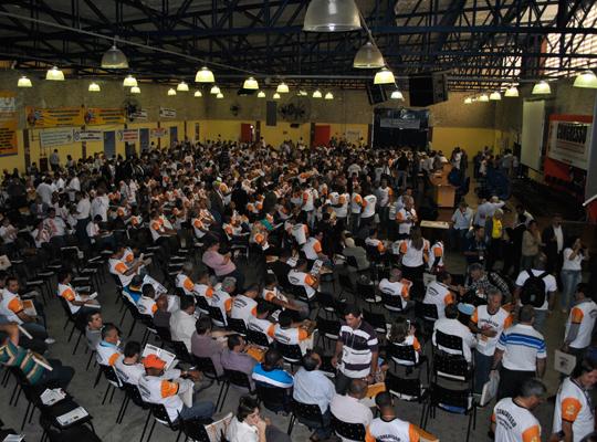 congressoamericana02 Sindicato participa de Congresso Estadual da Força Sindical em Americana