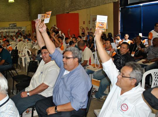 congressoamericana03 Sindicato participa de Congresso Estadual da Força Sindical em Americana