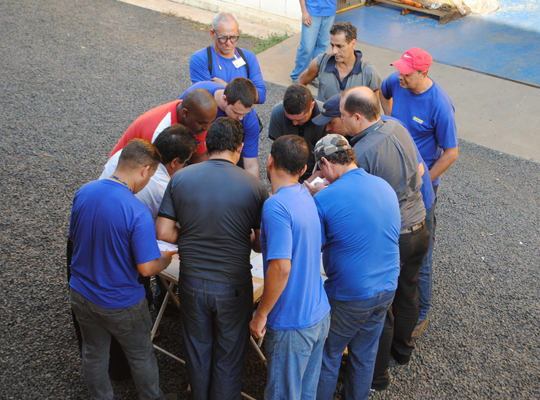 cuiap002 Sindicato realiza Assembleia de PLR e Acordo de Horário de Trabalho na Chiaperini   Santa Rosa de Viterbo