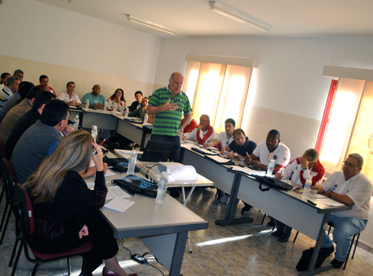 cursoPLR00 1º curso para dirigentes sindicais em Mococa