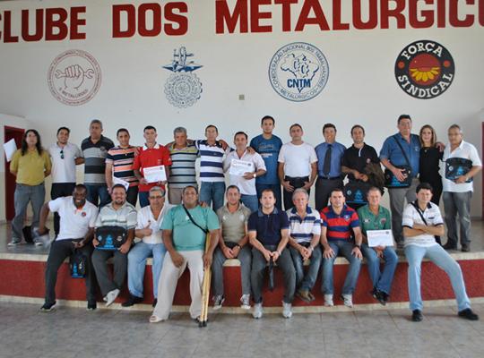 cursoPLR03 01 Entendimento  entre Sindicato e as empresas Kromaq e Usimaq no Ministério Trabalho  em Ribeirão  Preto