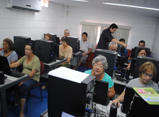 cursoinfo Inclusão Digital: Sindicato promove Curso Gratuito para Terceira Idade