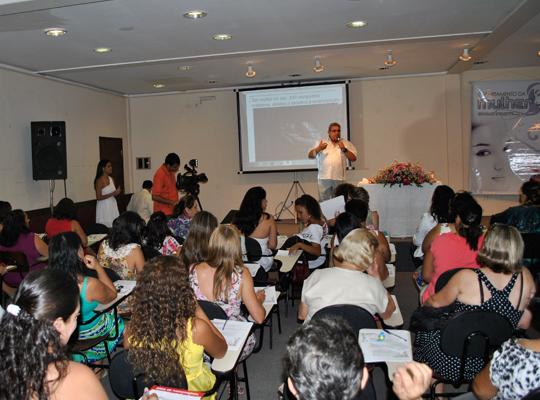 diadamulher201200 Sindicato presente no Dia Internacional da Mulher