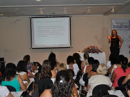 diadamulher201201 Sindicato presente no Dia Internacional da Mulher