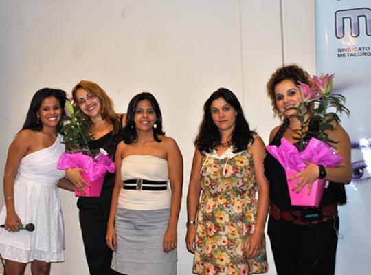 diadamulher201202 Sindicato presente no Dia Internacional da Mulher