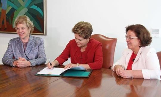 dilmavalecultura Dilma sanciona lei que cria vale cultura de R$ 50 para trabalhador