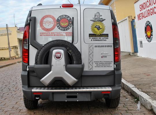 fiatdobloxingu002 01 Sindicato retira Doblô Xingu doada pela Federação dos Metalúrgicos