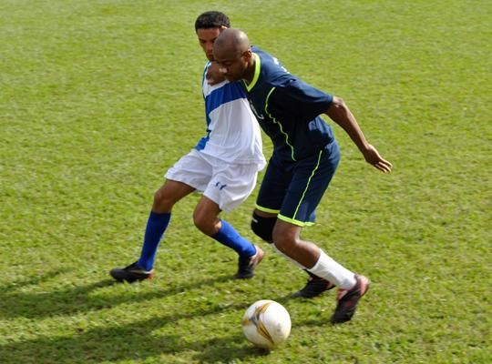 fut7402 Fut Society: Chuva de gols no Clube Recreativo