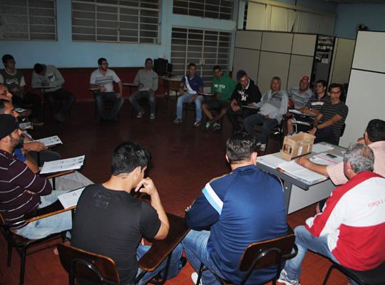 fut sorteio02 XV Campeonato de Futebol Society: sorteio define equipes participantes
