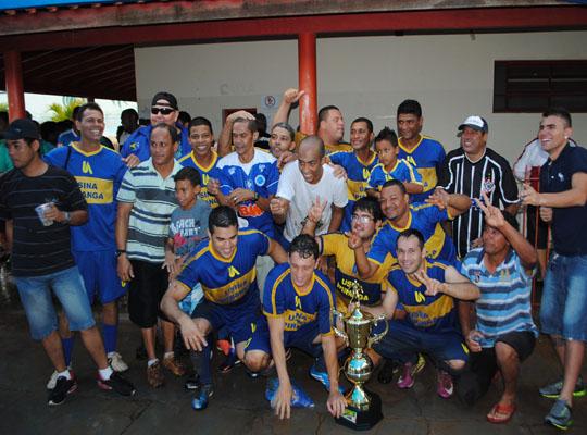 futfinal00 Usina Ipiranga é bicampeã do XV Campeonato de Futebol Society dos Metalúrgicos