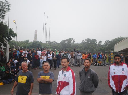 greve002 Ato de Greve Geral mobiliza metalúrgicos em Mococa