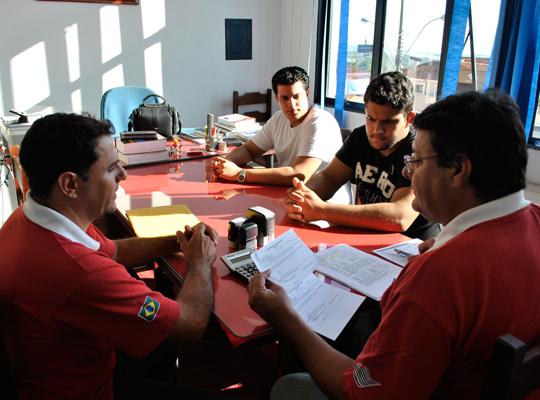 homologaoChiaperini18abr201201 Sindicato presta assistência trabalhista em Santa Rosa de Viterbo