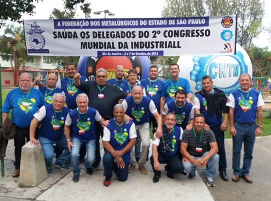 ind all06 2º Congresso da IndustriALL reúne sindicalistas do mundo inteiro