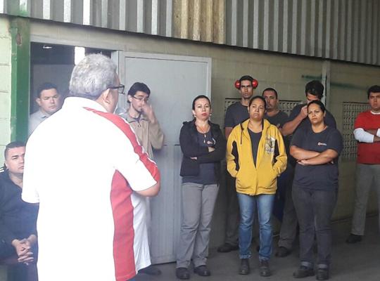indmec00 Sindicato realiza Assembleia na Indústria Mecânica Mococa
