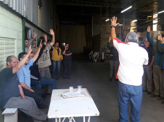 indmec01 Sindicato realiza Assembleia na Indústria Mecânica Mococa