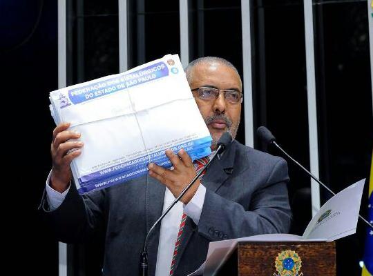 paim Abaixo assinado chega ao Congresso Nacional