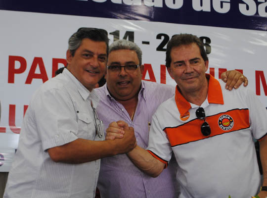 possefed00 Toma posse a nova diretoria da Federação dos Metalúrgicos do Estado de São Paulo