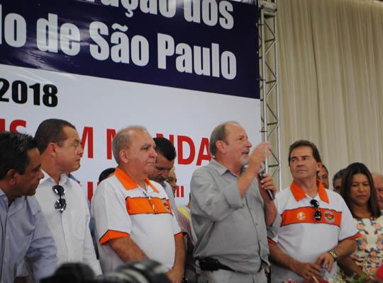 possefed01 Toma posse a nova diretoria da Federação dos Metalúrgicos do Estado de São Paulo