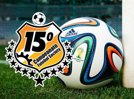 quartasfut 15º Campeonato de Futebol Society chega à sua fase eliminatória
