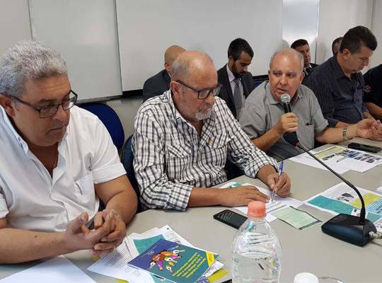 reun001 Reunião na Federação dos Metalúrgicos de SP