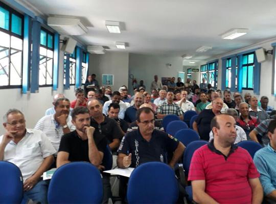 reun002 Reunião na Federação dos Metalúrgicos de SP