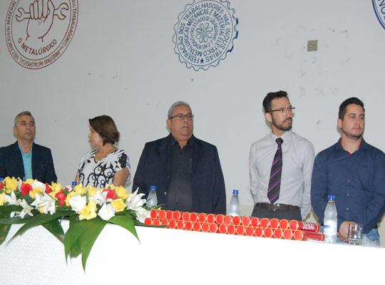 sen002 Sindicato e Senai realizam cerimonia para entrega de certificados de conclusão de curso