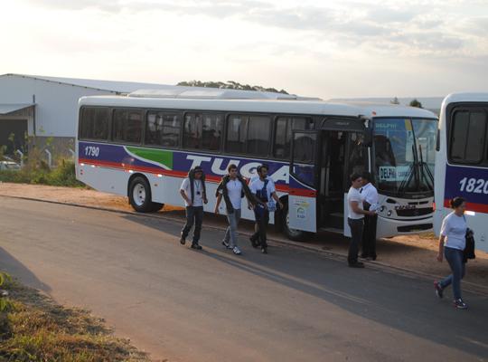 transp00 MAIS UMA CONQUISTA DO SINDICATO   Transporte Coletivo para os empregados da Delphi!