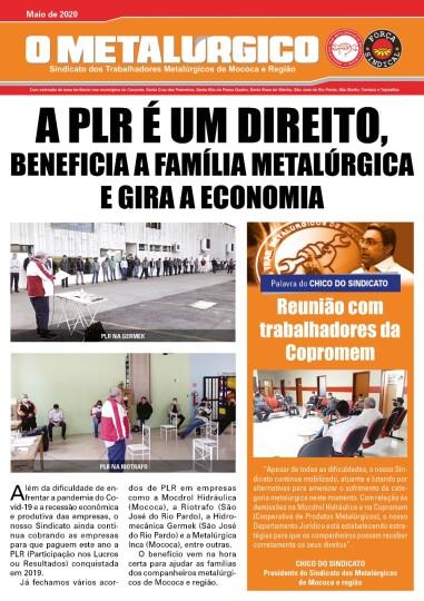 Jornal O Metalúrgico destaca conquistas de PLR e importância dos acordos coletivos
